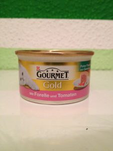 Katzenfutter Test - Gourmet Gold