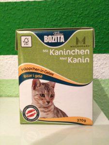 Katzenfutter Bozita Häppchen in Gelee im Test
