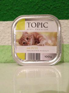 Katzenfutter Test - Supermarktfutter Topic von Aldi Nord