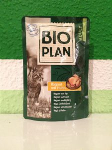 Katzenfutter Bio Plan von Fressnapfim Test