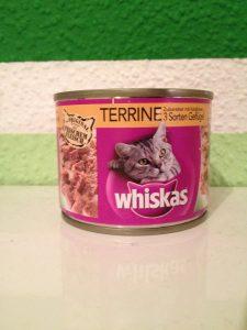 Katzenfutter Test - Whiskas Terrine