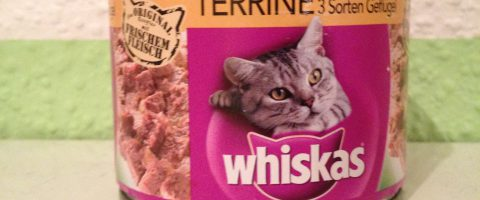 Katzenfutter Test - Whiskas Terrine