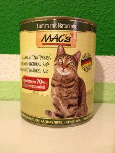 Katzenfutter Test - MACs