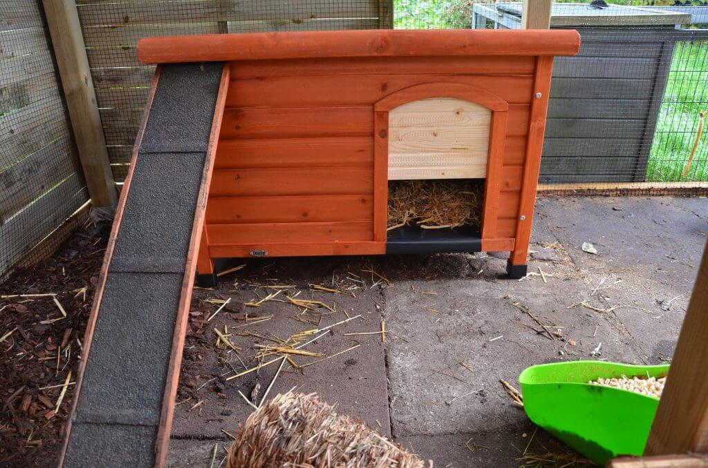 Kaninchen Schutzhütte 10
